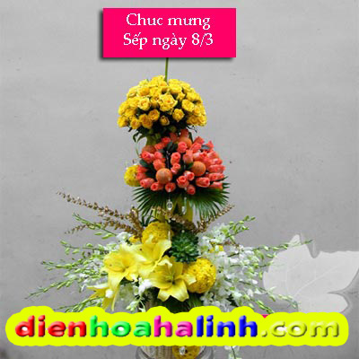 day-cam-hoa-sinh-nhat-cao-cap